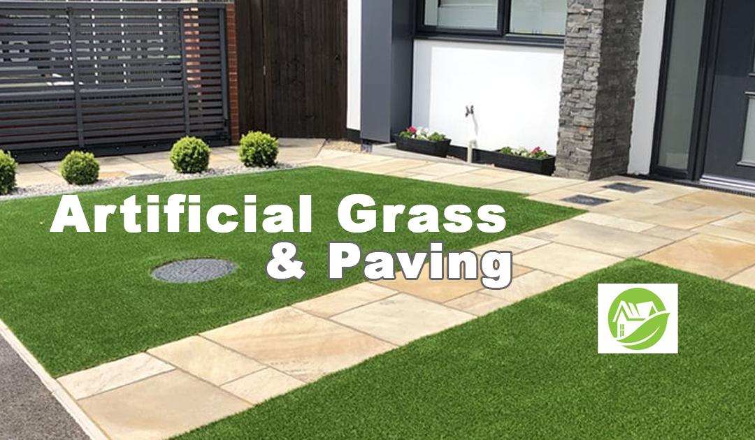 Artificial Grass & Paving